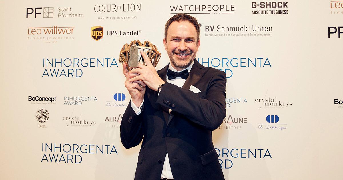 """Jörg Gellner, Gewinner der Kategorie """"Fashion Jewelry"""""""