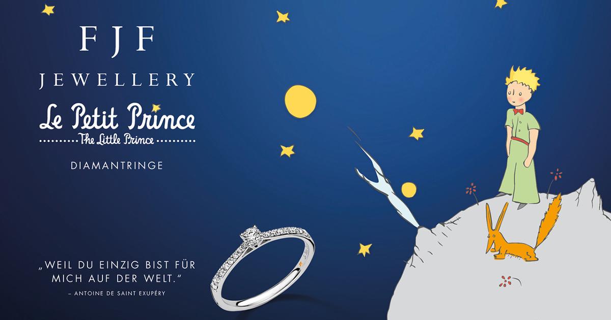 Le Petit Prince Verlobungsringe – jetzt neu bei FJF-Jewellery.
