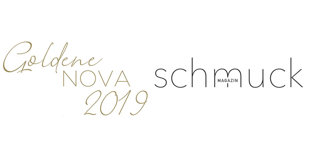 """Medienpartner der """"Goldenen Nova 2019"""" ist das Schmuck Magazin."""
