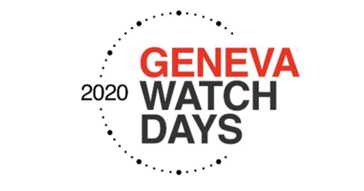 Die Geneva Watch Days wurden auf August verlegt.
