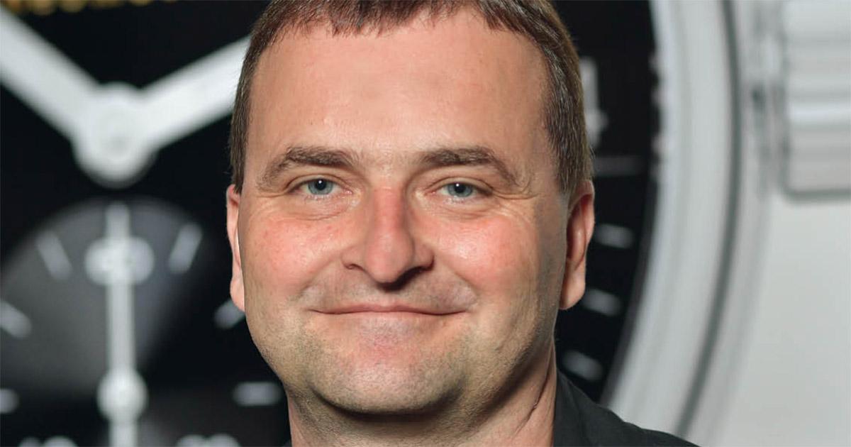 Uwe Ahrendt, Geschäftsführer der Nomos Glashütte Uhrenmanufaktur.