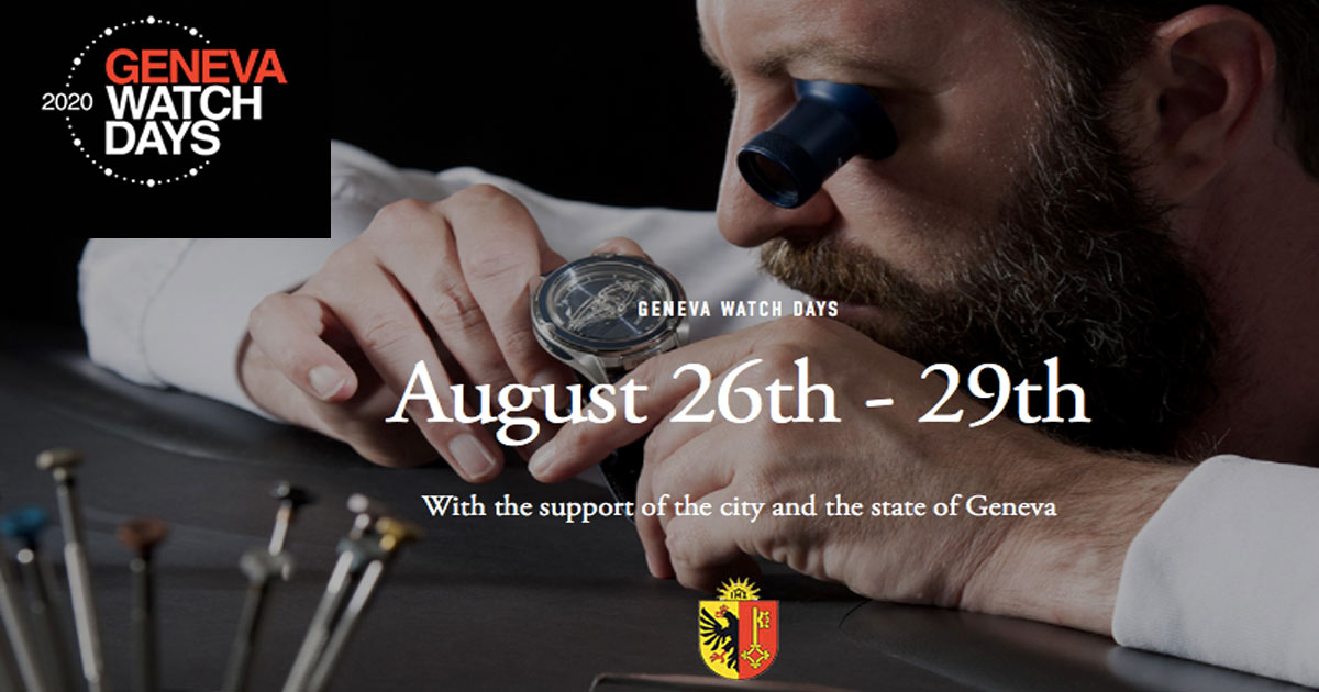 """Freigabe: Auch die neue Genfer """"Hotel-Messe"""" Geneva Watch Days kann im Sommer stattfinden."""