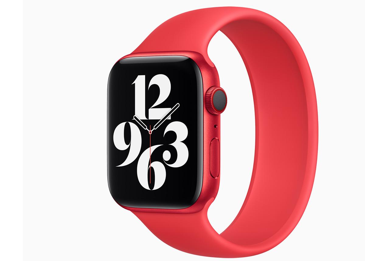 Offenbar gibt es Probleme mit dem verschlusslosen Armband der neuen Apple Watch. Foto: Apple