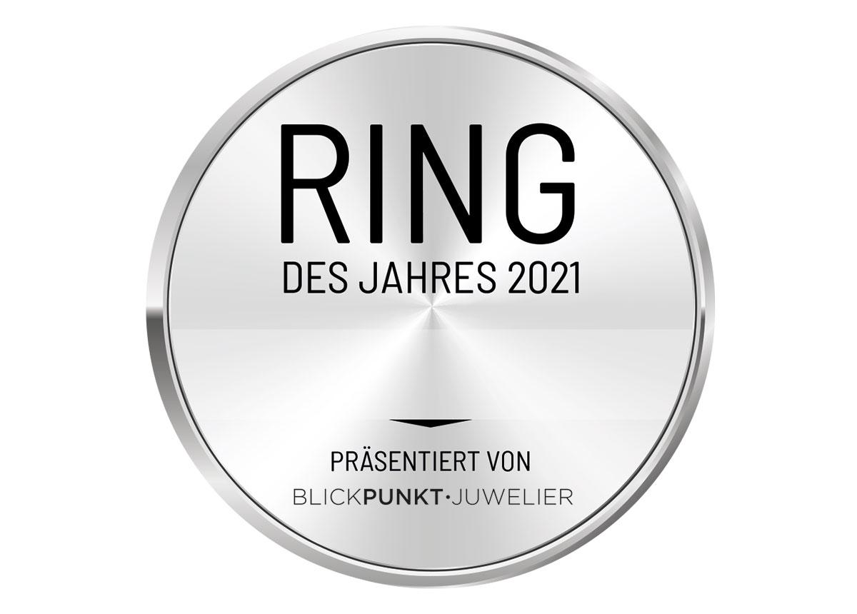"""Der Platin Verlobungsring ist der """"Ring des Jahres 2021"""""""