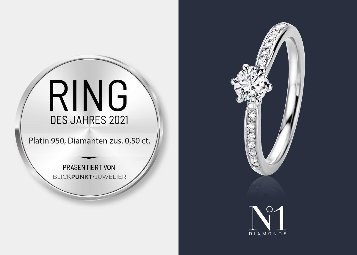 """Das Modell 26 963 ist der Platin """"Ring des Jahres"""" von N1."""