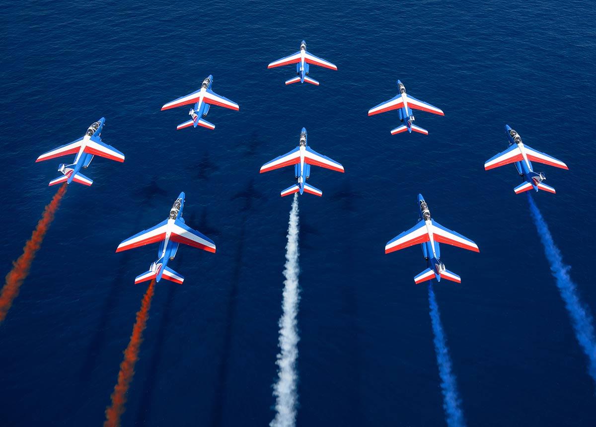 Bell & Ross ist offizieller Uhrenpartner der Patrouille de France.