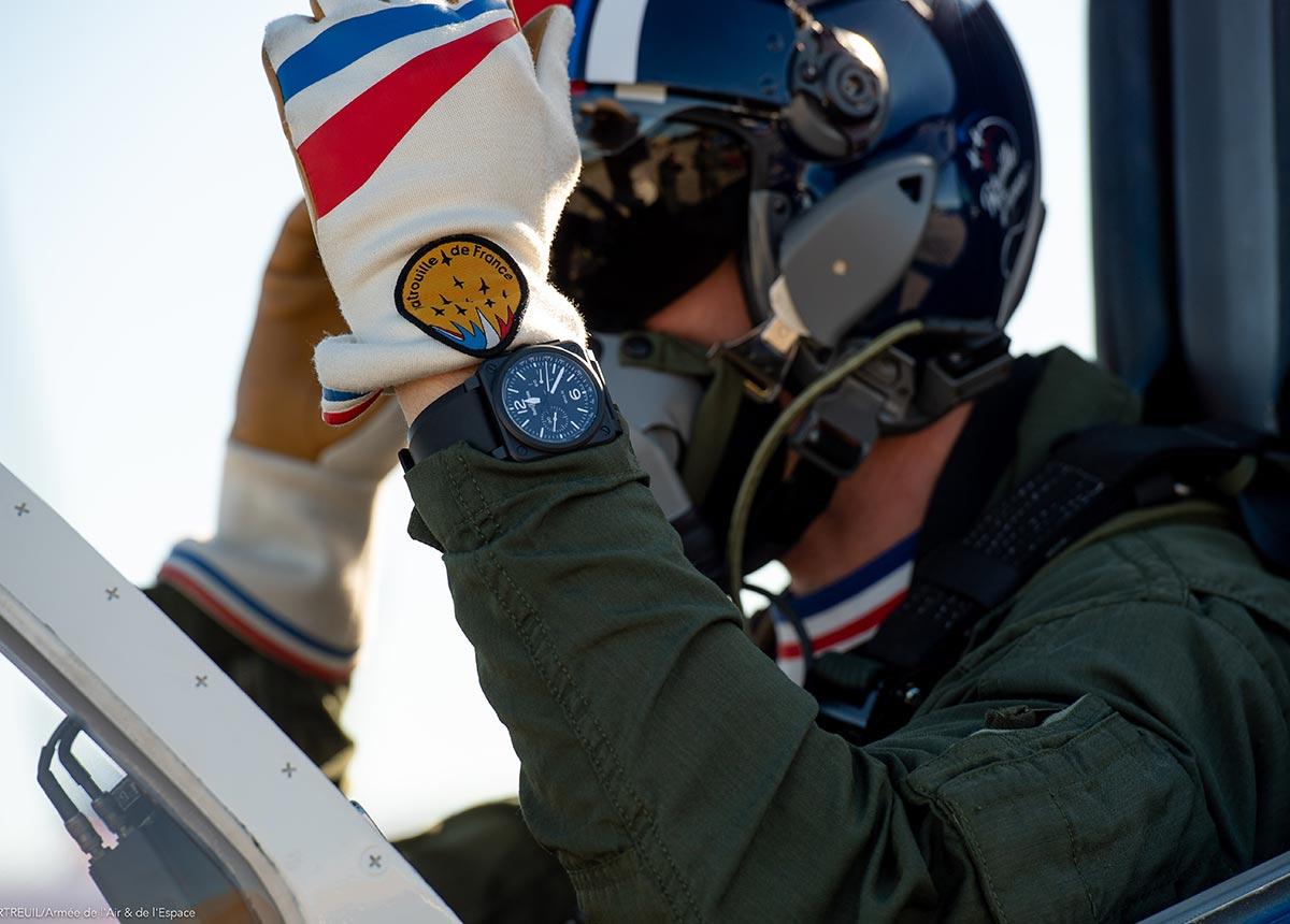 Die Patrouille de France fliegt seit mehr als 67 Jahren – jetzt mit Bell & Ross.
