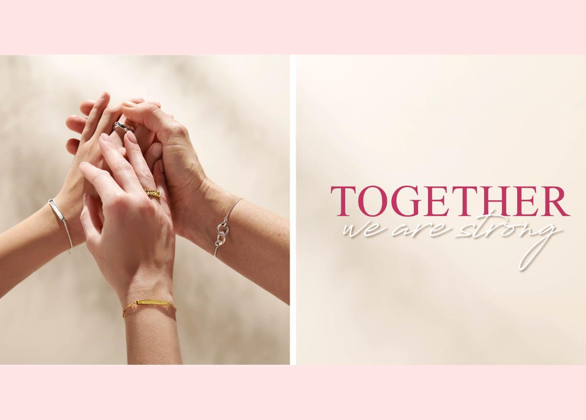"""""""Together we are strong"""" – gerade in Zeiten von COVID ist das wichtiger denn je geworden. Die Muttertags-Edition von Thomas Sabo drückt genau das aus."""