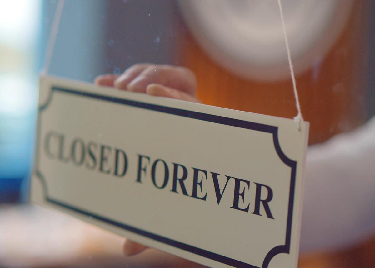 Closed-Forever_shutterstock_1836658408