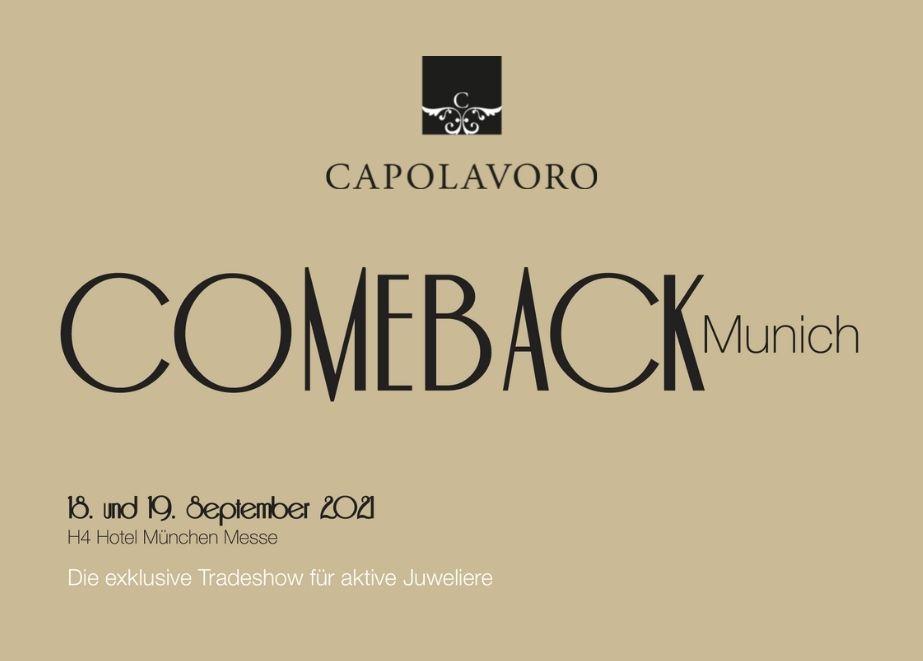 Auch Capolavoro wird bei der exklusiven Tradeshow in München mit dabei sein und die umfangreiche P.O.S.-Unterstützung präsentieren.