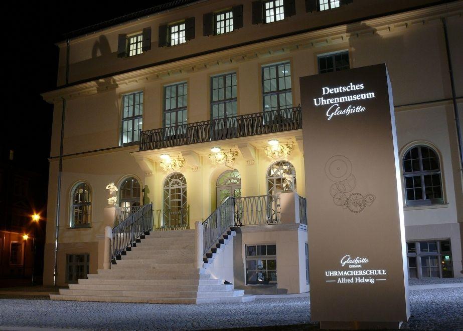 Die traditionsreiche Uhrenproduktion – hier das Glashütte Museum - soll markenrechtlich geschützt werden.