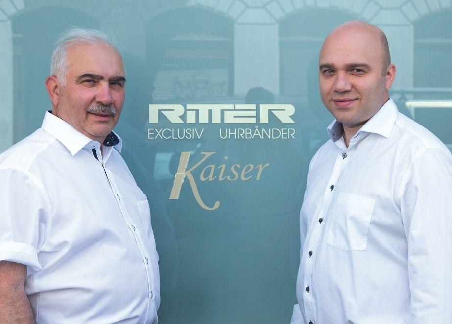 """""""Das Uhrband ist unsere Kernkompetenz."""" Nisan und Jaro Bangiev, Ritter Uhrband"""