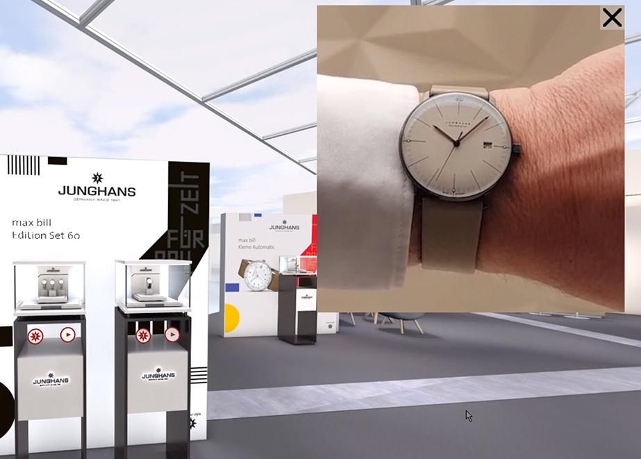 Auch einen 3D-Wrist-Shot der Neuheiten hat es gegeben.